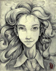 Hermione Granger by Bregolas