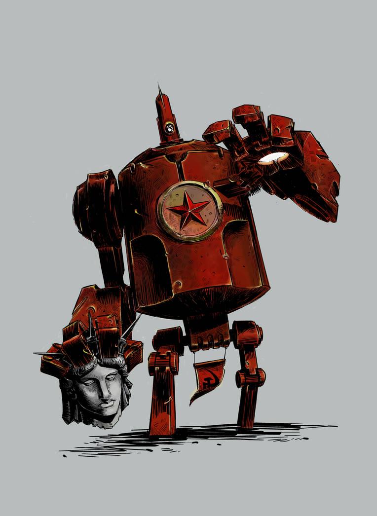 Kuz'ka soviet giant nuclear robot