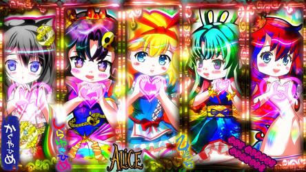 PCwallpaper Princess of FairyTale in LOVE Heart !! by RorimitanHG
