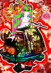 KAMEHIME - Japanese YOKAI by Rorimitan-HG