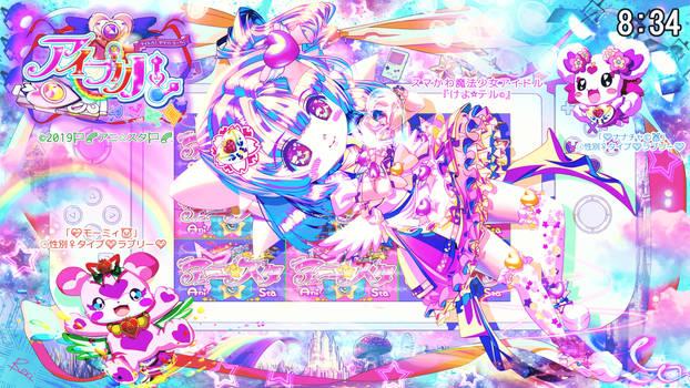 Retake : SmaKawa Angel Magical girl idol KEYOTERU