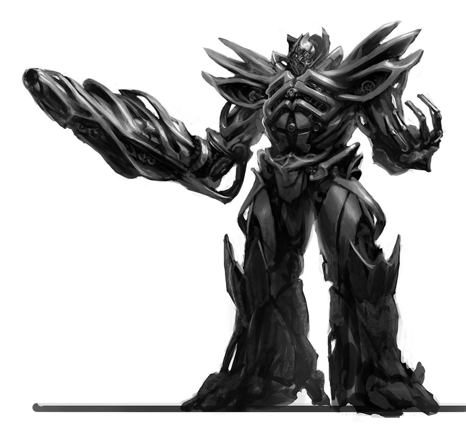 TF4 Decepticon Concept Art by TheLordandtheRing