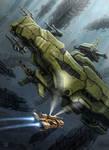 Derelict Battleship