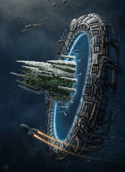 Star Gate by LeonovichDmitriy