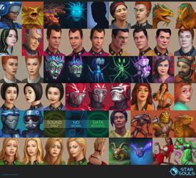 Star Souls - Character Portraits
