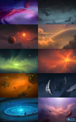 Star Souls - Backgrounds
