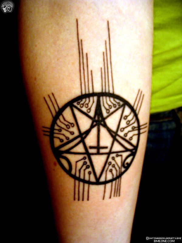Tech Pentacle by Badwicca