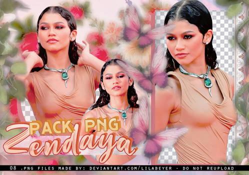PNG Pack #O3 [Zendaya Leather dress]