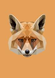 Fox Polygon Art