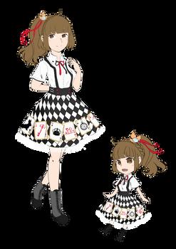 Chiyo Arisa Sei - Poker Dress