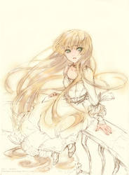 GOSICK - Victorica by astridyue