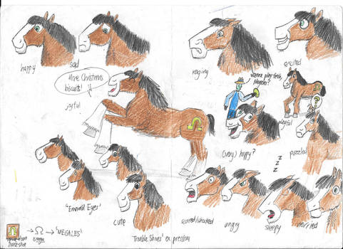 The Clydesdale's emotions