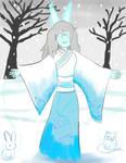 Fionna the Yuki Onna by HorsesPlease