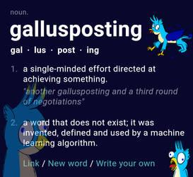 Gallusposting by HorsesPlease