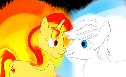 The Sun and the Star by HorsesPlease
