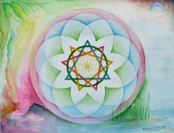 Faery Mandala - Sold by DanielLightfoot