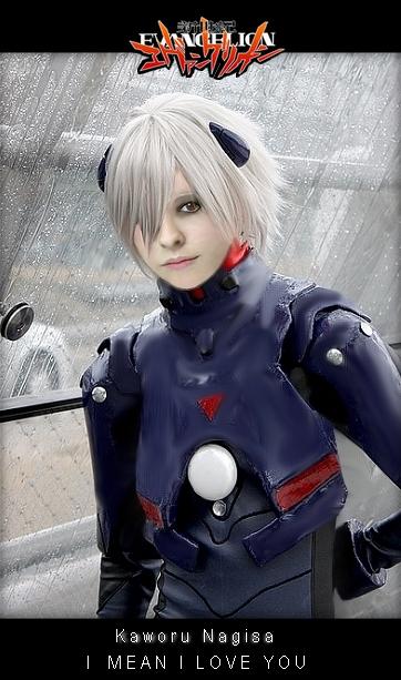 kaworu Nagisa cosplay by everyflavor