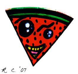 Sticker Set - Watermelon by florafawna