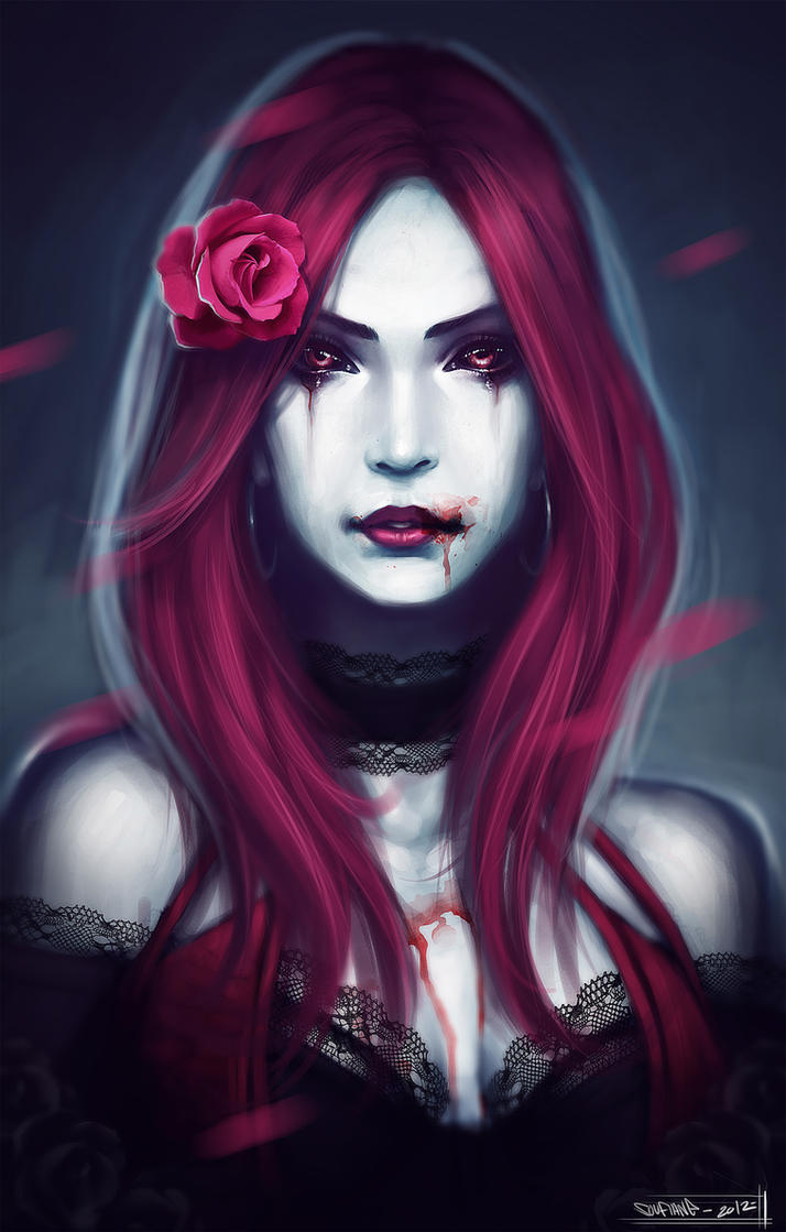 Gothic Vampire By Cgsoufiane On Deviantart