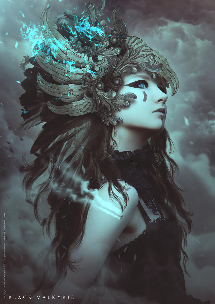 Black valkyrie by cgsoufiane on deviantart for Buy digital art online