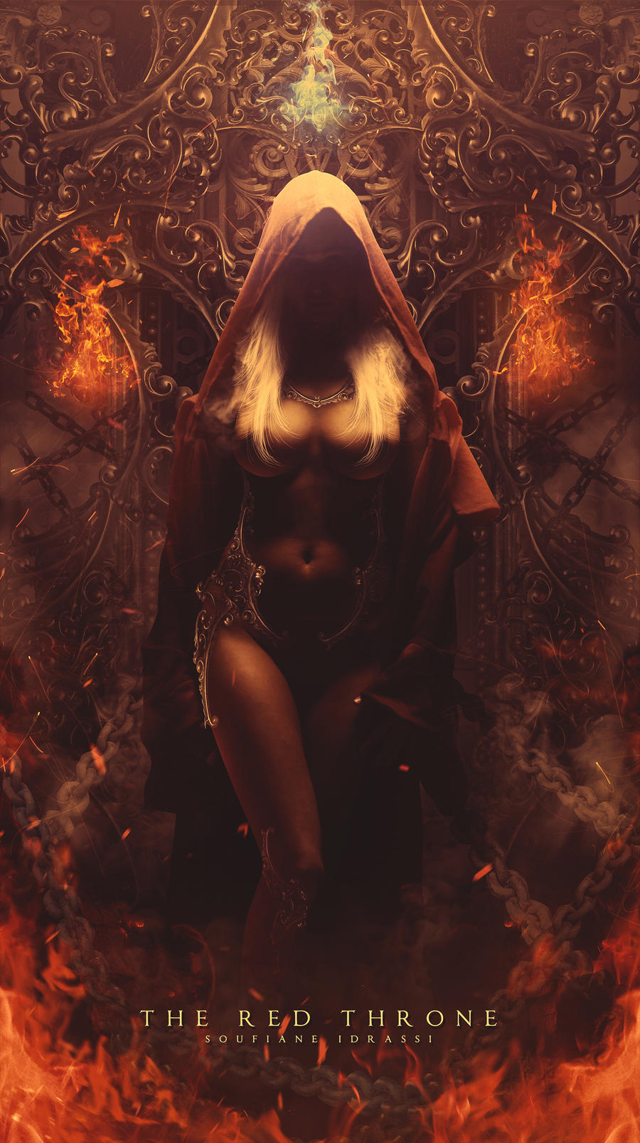 The Red Throne by CGSoufiane
