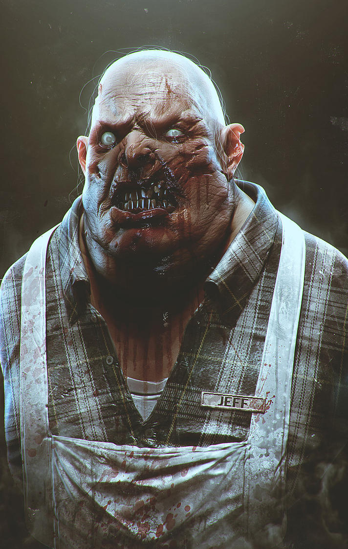 Jeff the zombie by CGSoufiane