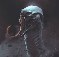 Snake Creature by CGSoufiane