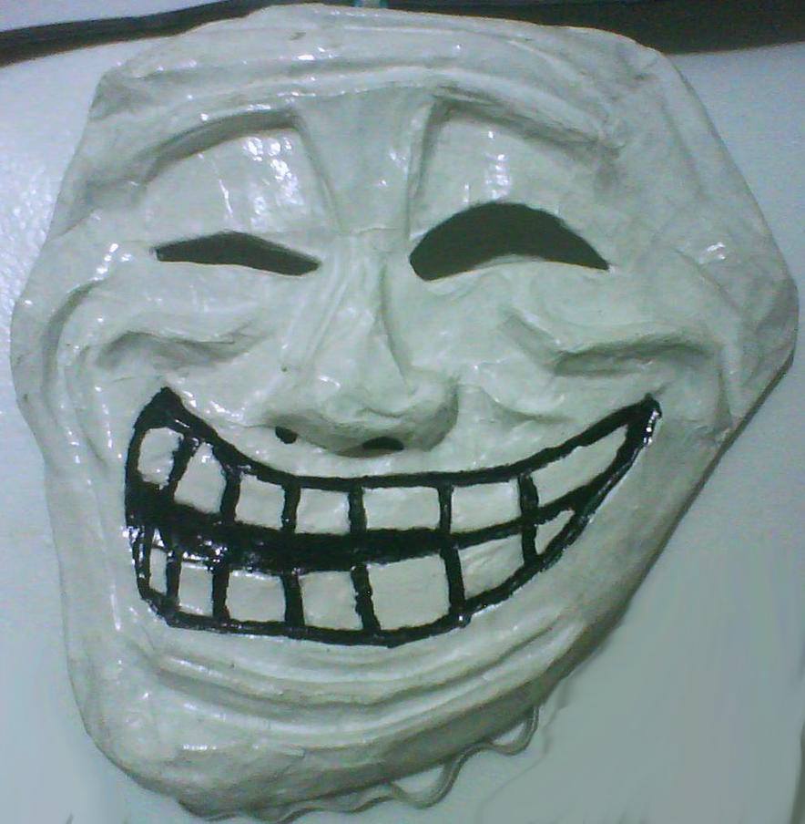 Meme Masks Trollface By Psycho Stress On Deviantart