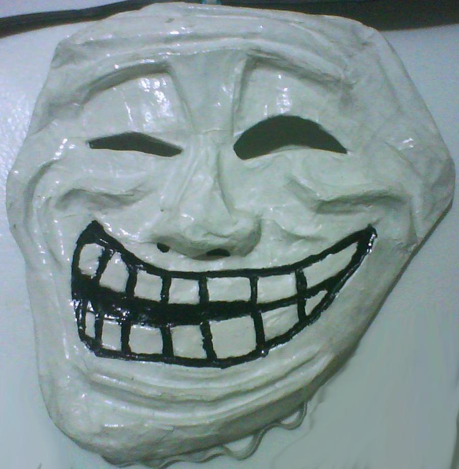 Meme Masks - Trollface by Psycho-Stress