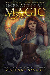 Impractical Magic Book Cover Commission