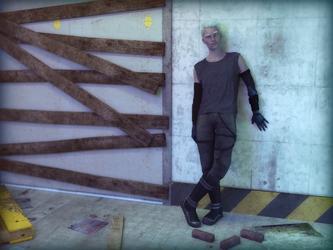 Rhiel Morrigan in New Skin by luck-be