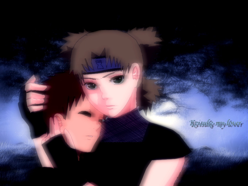 Temari And Gaara by Keisuke-my-lover
