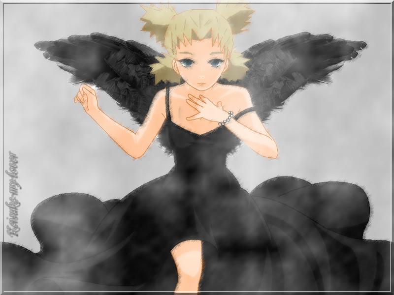 Dark Angel Temari by Keisuke-my-lover