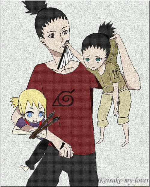 Shikamaru, babysitter? by Keisuke-my-lover