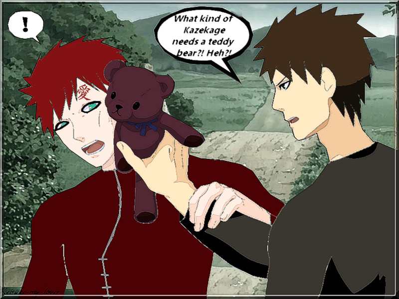 Kazekage doesn't need Teddy by Keisuke-my-lover