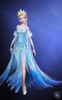 The Snow Queen (full body) by jaeon009