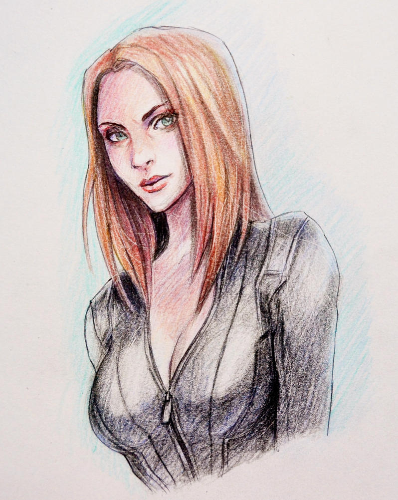 Natasha Romanoff by jaeon009