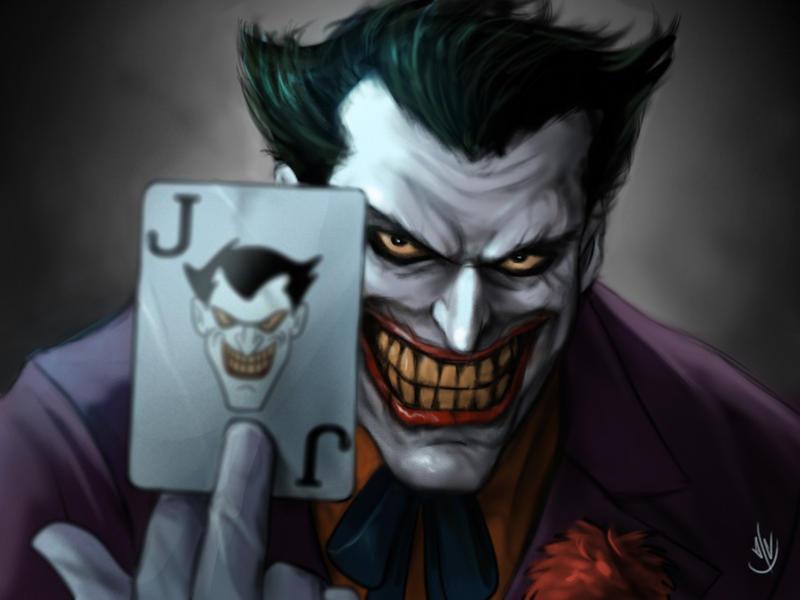 joker cartoon card wallpaper - photo #32