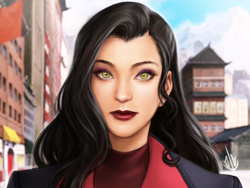 Asami Sato by jaeon009 on DeviantArt