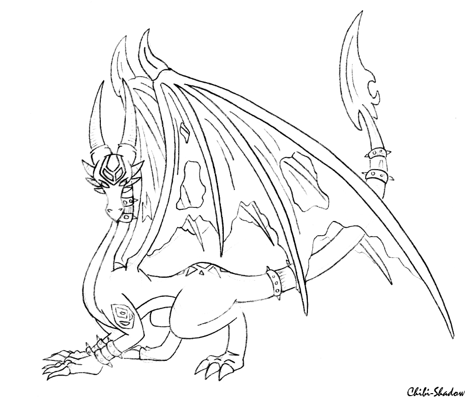 spyro and cynder coloring pages - photo#17