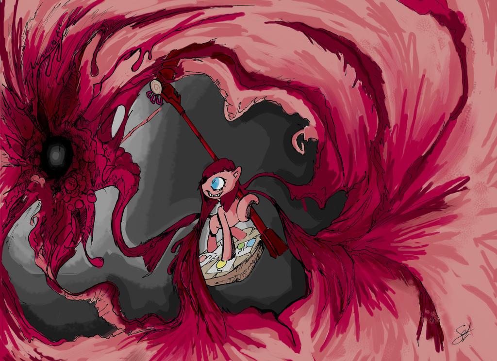 Fan art mlp pinkamena diane pie by brony f on deviantart - My little pony en humain ...