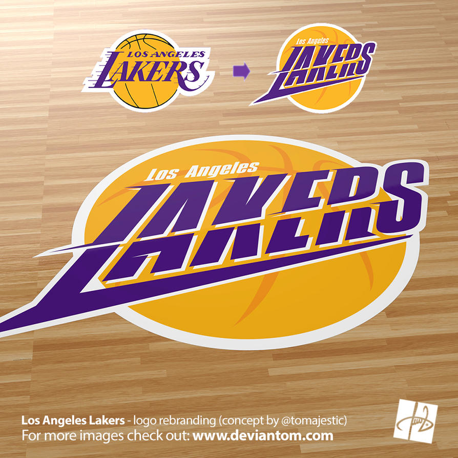 Los angeles lakers new logo concept by deviartz on deviantart los angeles lakers new logo concept by deviartz voltagebd Image collections