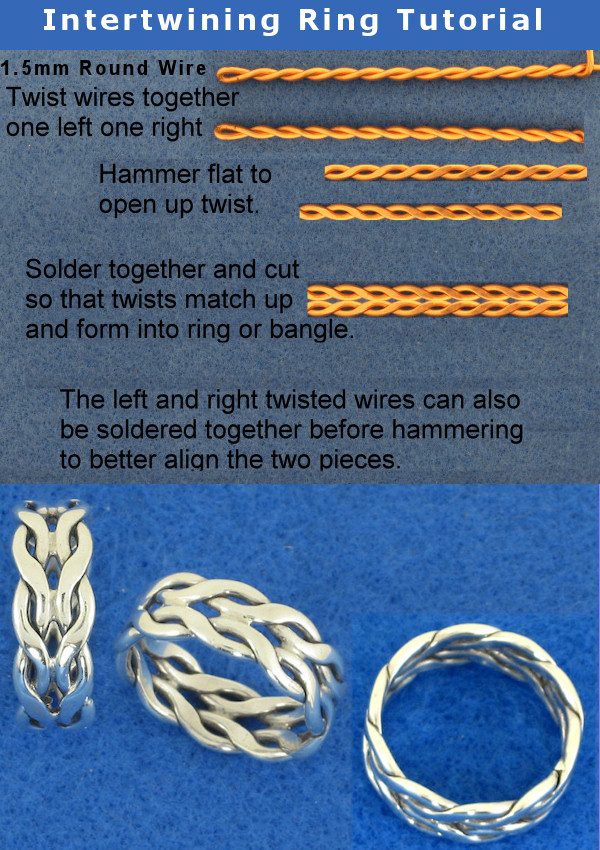 Intertwining Ring Tutorial by harlewood