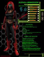Sophia Dennison Profile by EVOUniverse