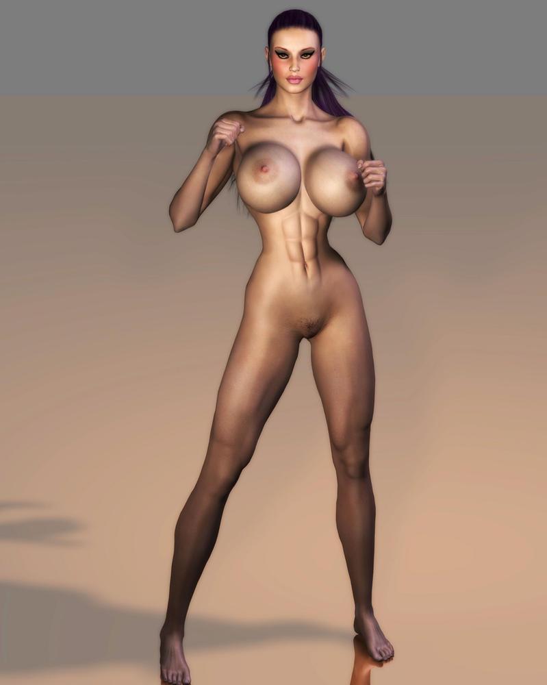 women fighters nude deviant art