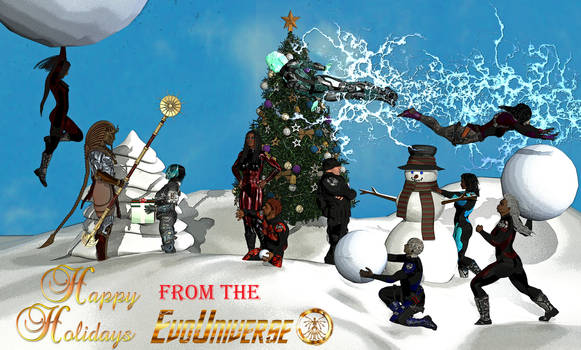 Happy Holidays from the EVO Universe