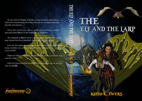 THE ELF AND THE LARP BOOK COVER