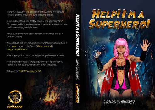 HELP! I'M A SUPERHERO! BOOK COVER REVEAL