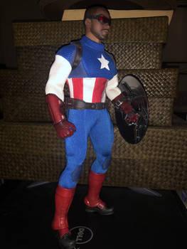 Captain America Custom Tbleague 4