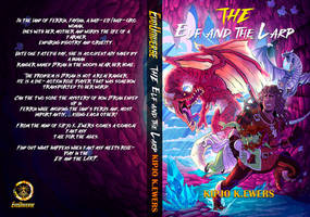 The Elf And The LARP  NEW COVER BY CESAR GUTIERREZ